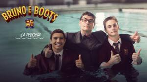 Bruno e Boots: la piscina