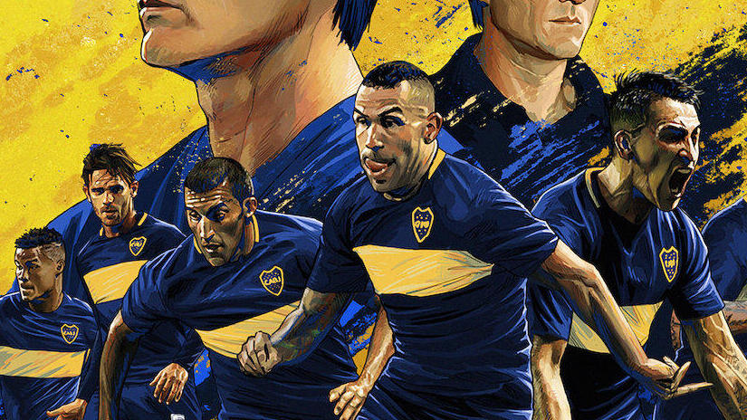 Picture from Boca Juniors Confidential