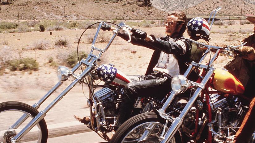 Immagine tratta da EASY RIDER - Libertà e paura