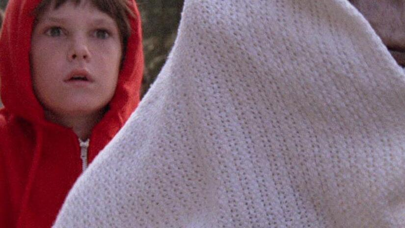 Immagine tratta da E.T. - L'extra-terrestre