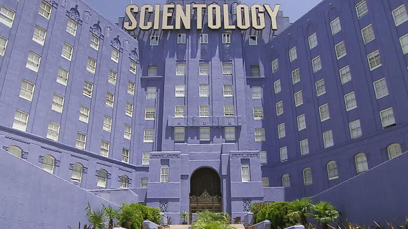 Immagine tratta da Going Clear - Scientology e la prigione della fede