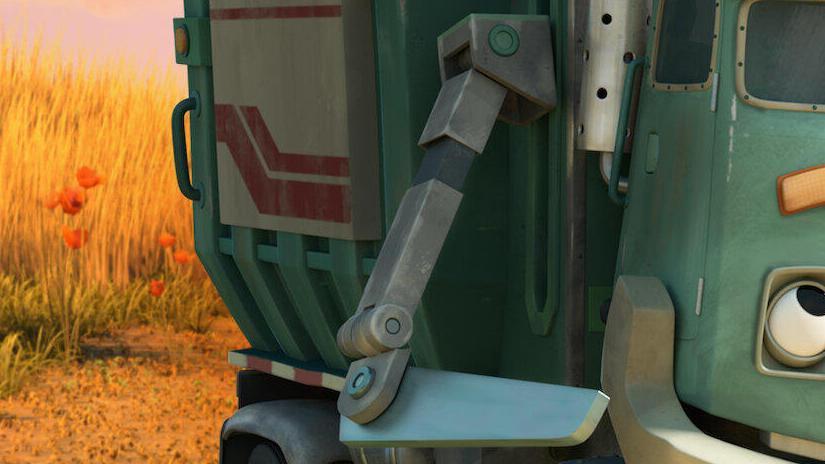 Immagine tratta da Hank e il camion dei rifiuti