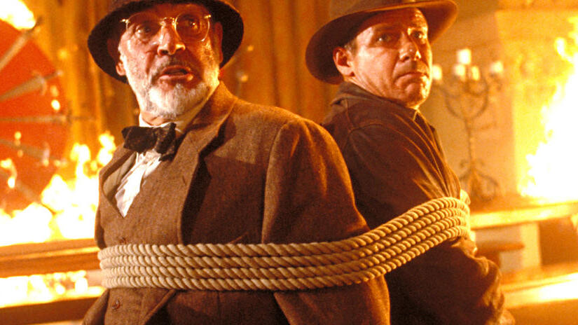 Picture from Indiana Jones and the Last Crusade