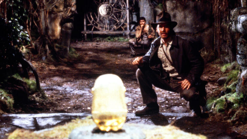 Picture from Indiana Jones and the Raiders of the Lost Ark