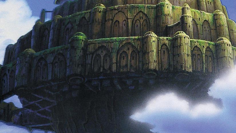 Immagine tratta da Il castello nel cielo