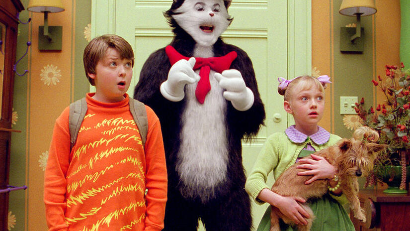 Picture from Dr. Seuss' The Cat in the Hat