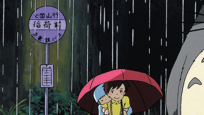 Immagine tratta da Il mio vicino Totoro