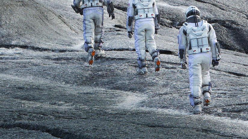 Immagine tratta da Interstellar