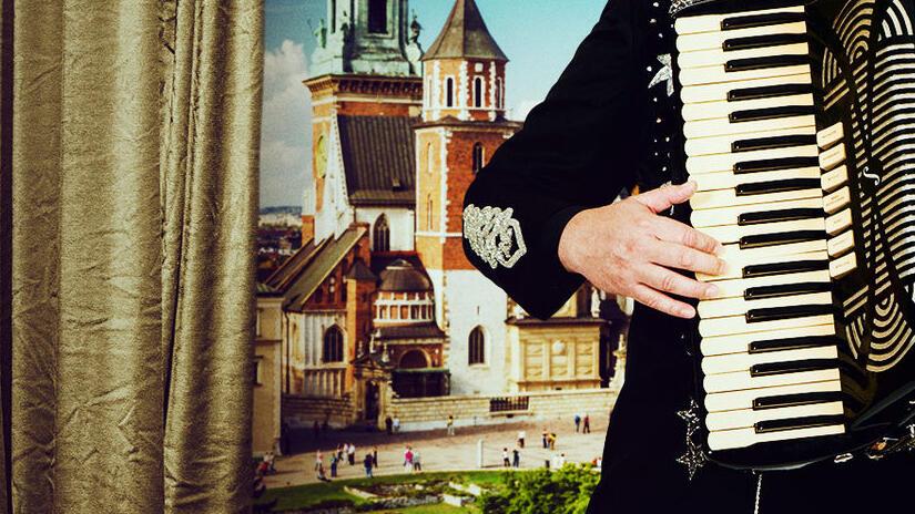 Immagine tratta da Il re della polka