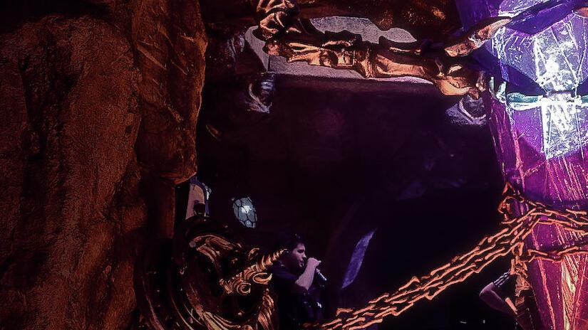 Immagine tratta da Il richiamo del cristallo - La realizzazione di Dark Crystal: La resistenza