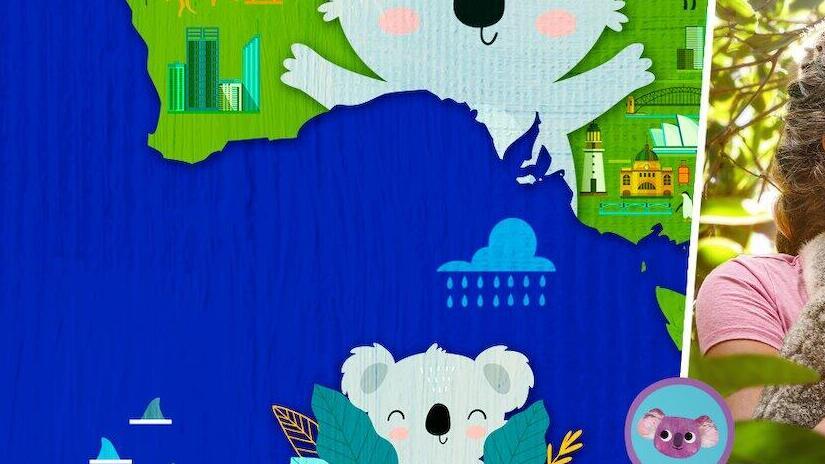 Immagine tratta da Izzy nel mondo dei koala