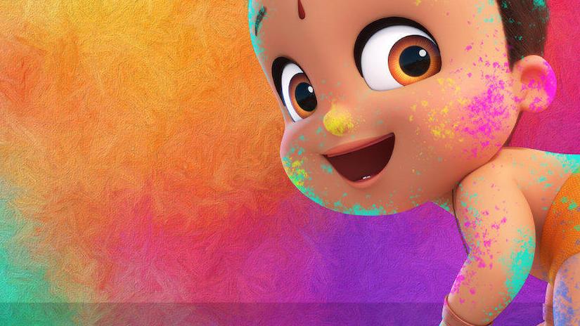 Immagine tratta da Il piccolo grande Bheem: La festa dei colori