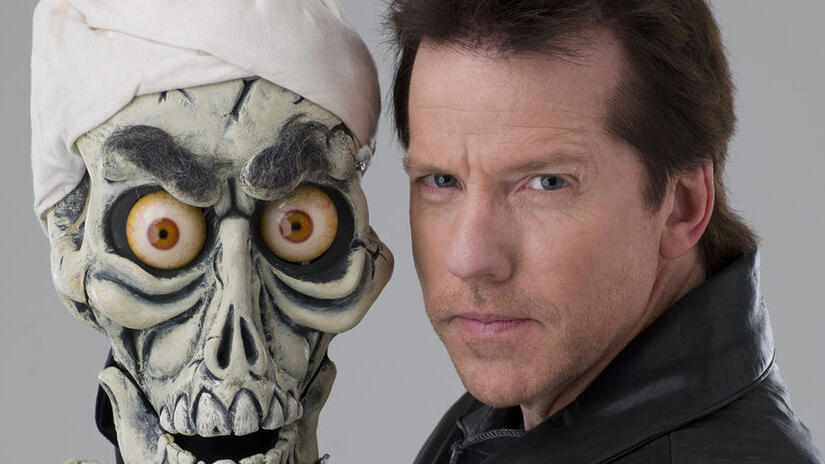 Picture from Jeff Dunham: Controlled Chaos