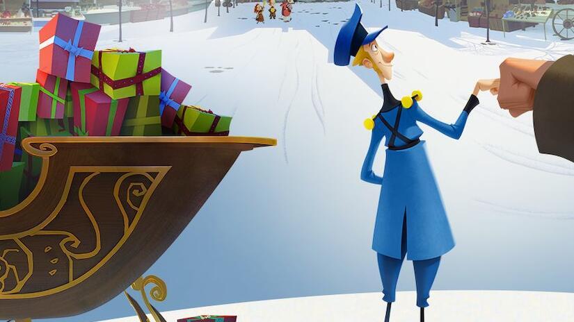 Immagine tratta da Klaus - I segreti del Natale