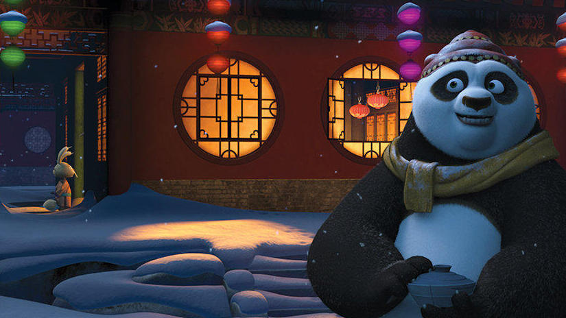 Immagine tratta da La festività di Kung Fu Panda