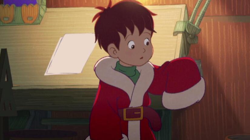 L Apprendista Di Babbo Natale.L Apprendista Babbo Natale E Il Fiocco Di Neve Magico Film 2013