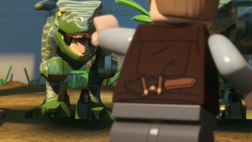 Picture from LEGO Jurassic World: The Indominus Escape