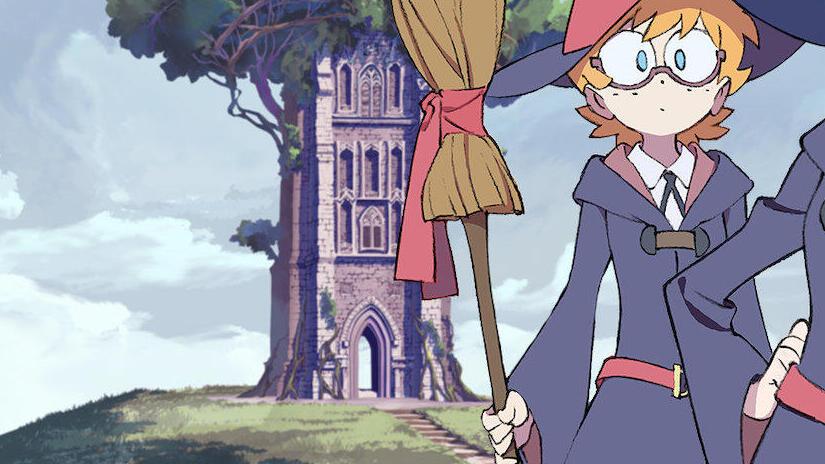 Immagine tratta da Little Witch Academia