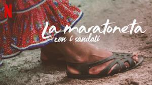 La maratoneta con i sandali