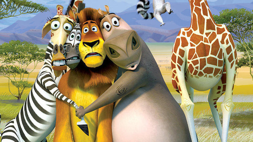 Immagine tratta da Madagascar 2