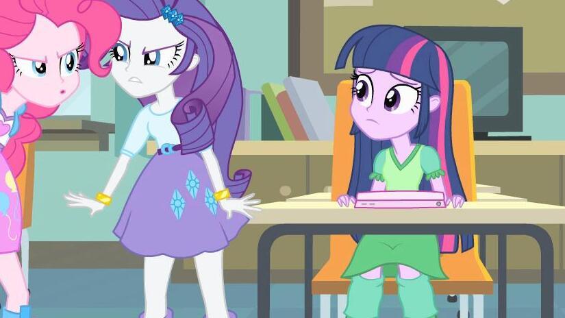 Immagine tratta da My Little Pony: Equestria Girls