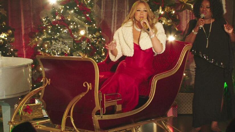 Immagine tratta da Mariah Carey's Merriest Christmas