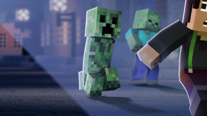 Picture from Minecraft: Story Mode