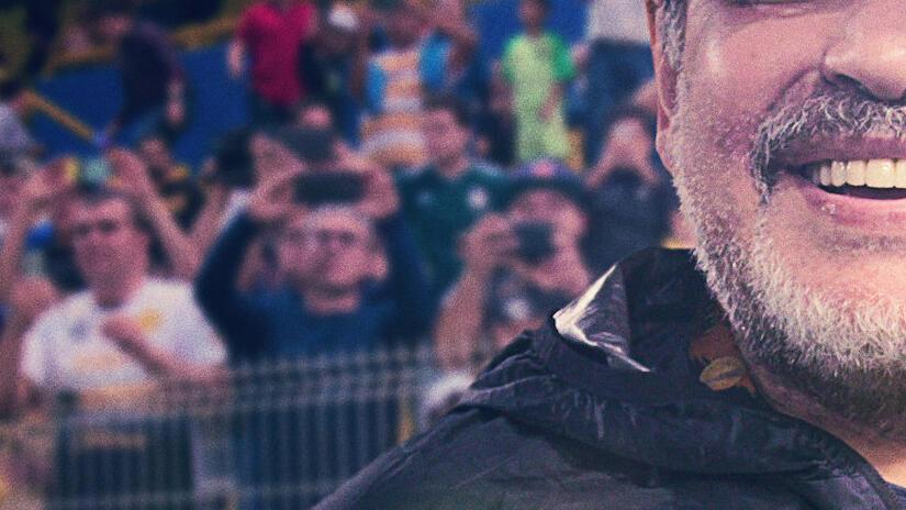 Immagine tratta da Maradona in Messico