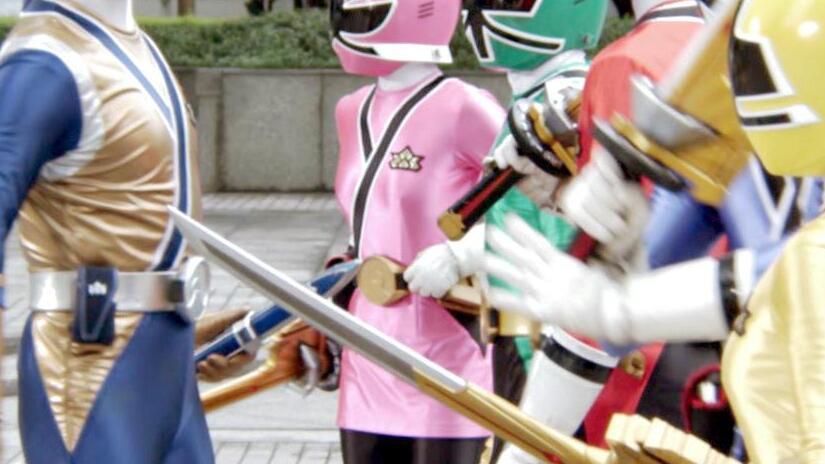 Immagine tratta da Power Rangers Samurai: Clash of the Red Rangers