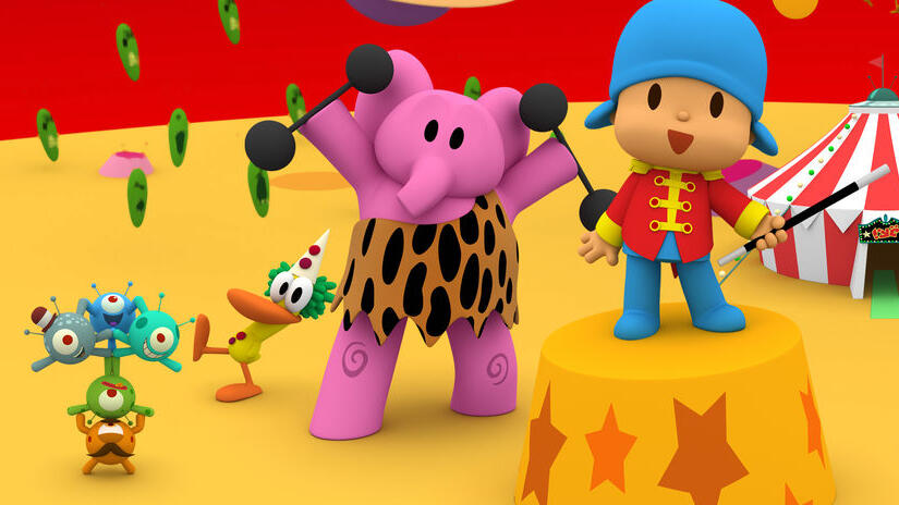 Immagine tratta da Pocoyo & The Space Circus