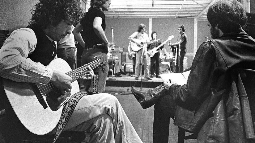 Immagine tratta da Rolling Thunder Revue: Martin Scorsese racconta Bob Dylan