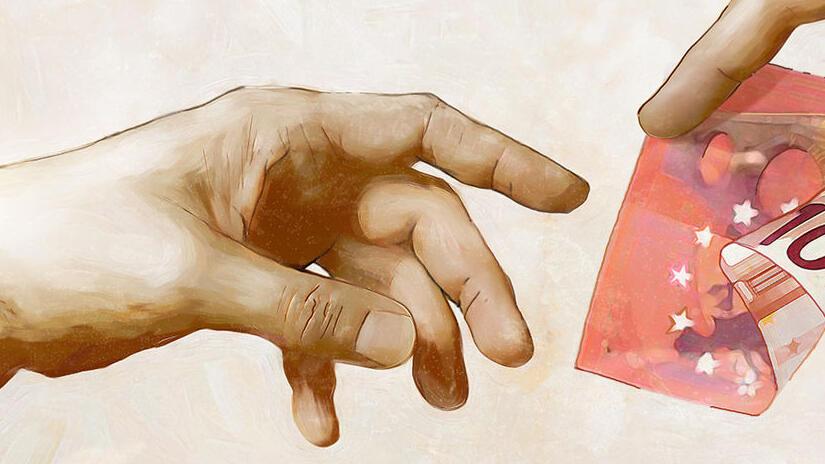 Immagine tratta da Rimetti a noi i nostri debiti