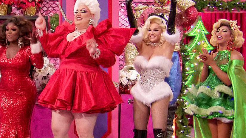 Immagine tratta da RuPaul's Drag Race: Spettacolosamente Natale
