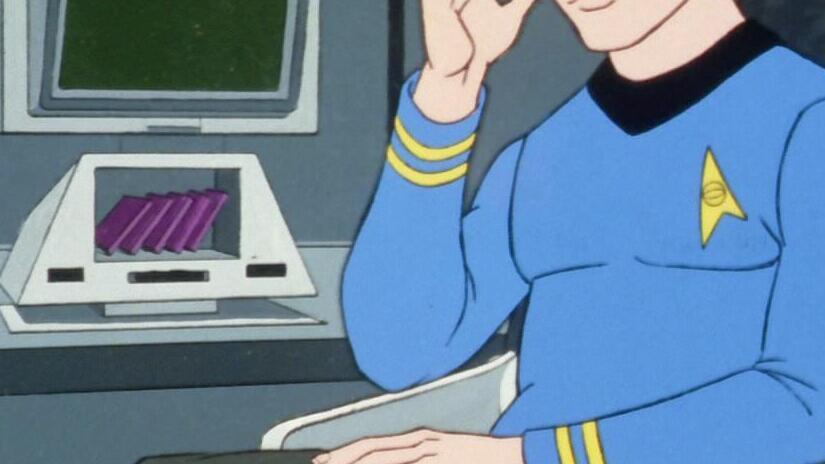 Immagine tratta da Star Trek: la serie animata