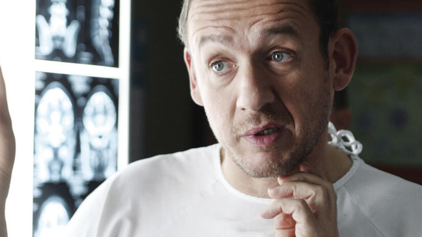 Immagine tratta da Supercondriaco - Ridere fa bene alla salute