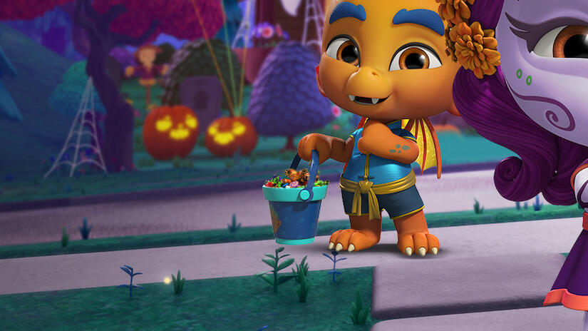 Picture from Super Monsters: Vida's First Halloween