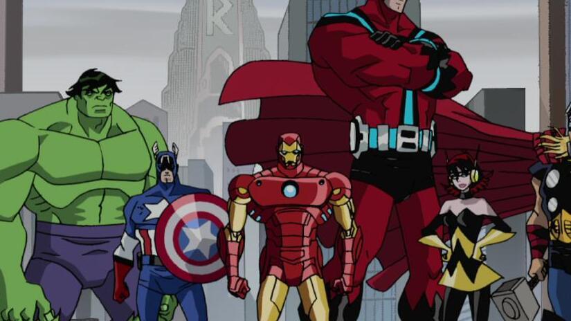 Immagine tratta da The Avengers: i più potenti eroi della Terra!