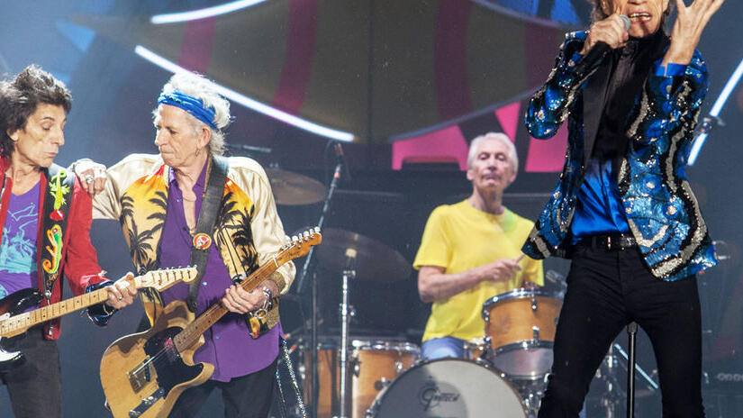 Picture from The Rolling Stones: Olé Olé Olé! A Trip Across Latin America