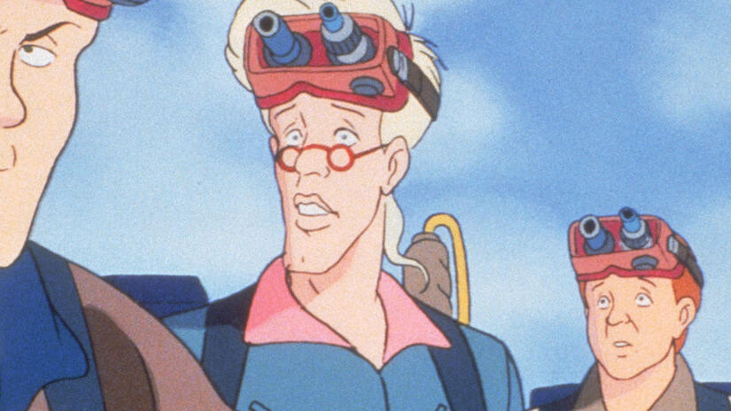 The real ghostbusters serie tv