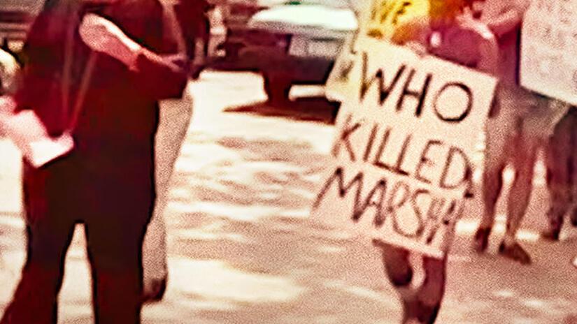 Immagine tratta da The Death and Life of Marsha P. Johnson