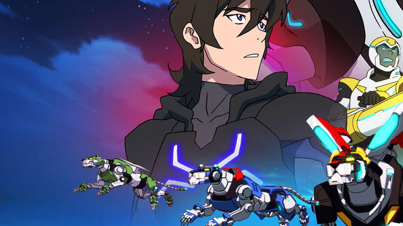 Picture from Voltron: Legendary Defender