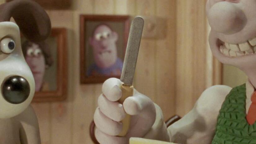 Immagine tratta da Wallace & Gromit - La maledizione del coniglio mannaro