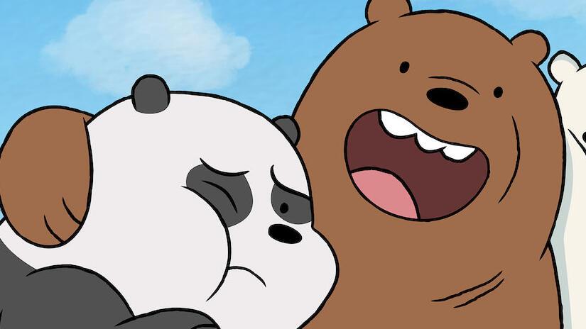 Immagine tratta da We Bare Bears - Siamo solo orsi