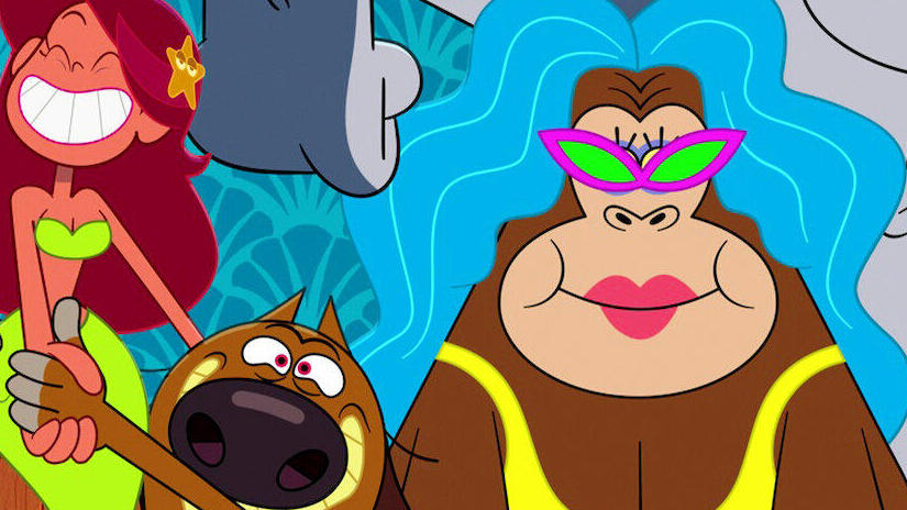 Picture from Zig & Sharko